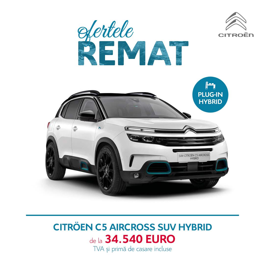 OFERTELE REMAT – Citroën C5 Aircross SUV HYBRID