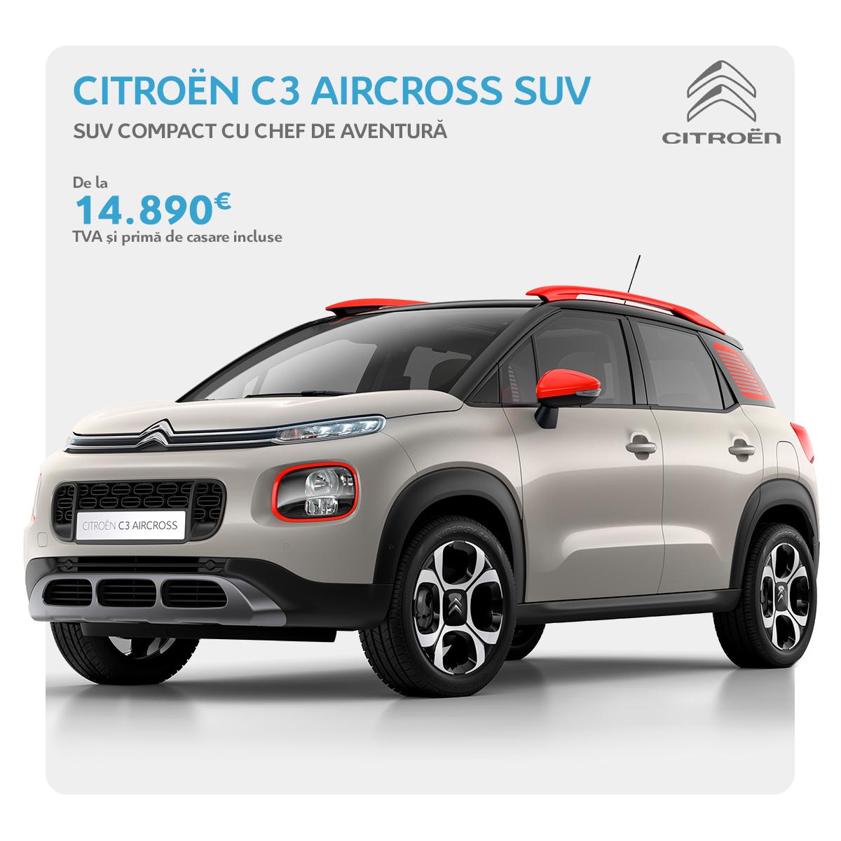 OFERTELE REMAT - Citroën C3 Aircross SUV
